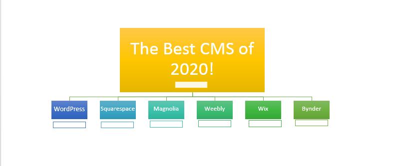 best CMS 2020