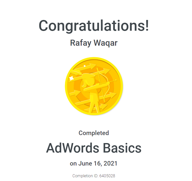 adword certification