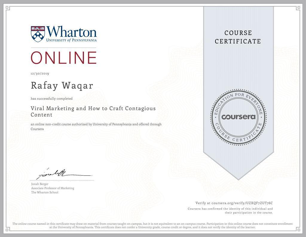 vital marketing certification university of pennsylvania